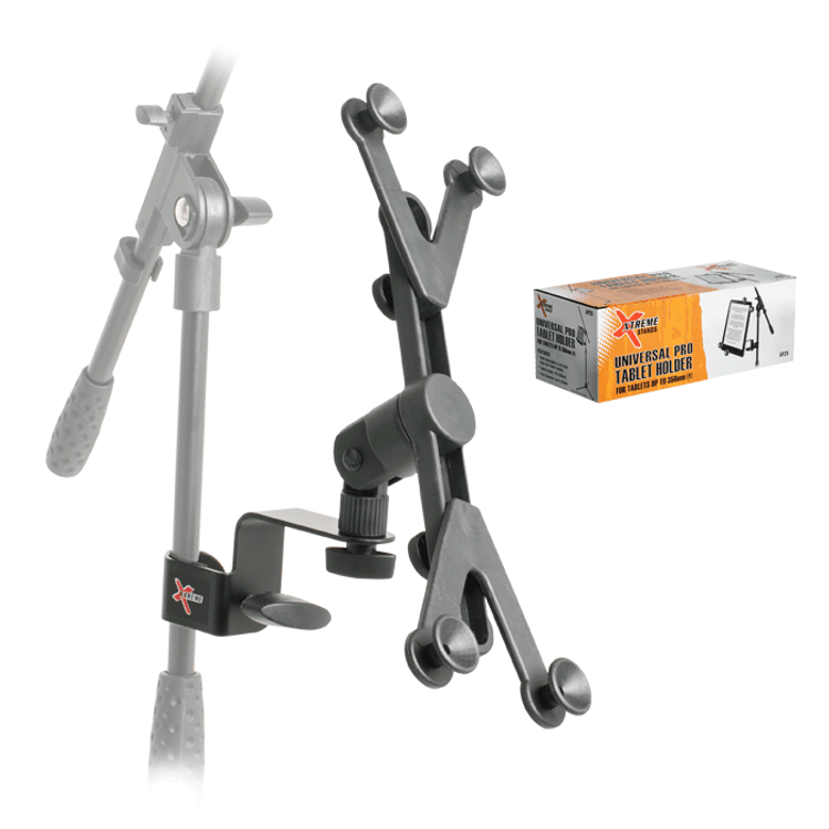XTREME Universal Pro Tablet Holder for microphone stand