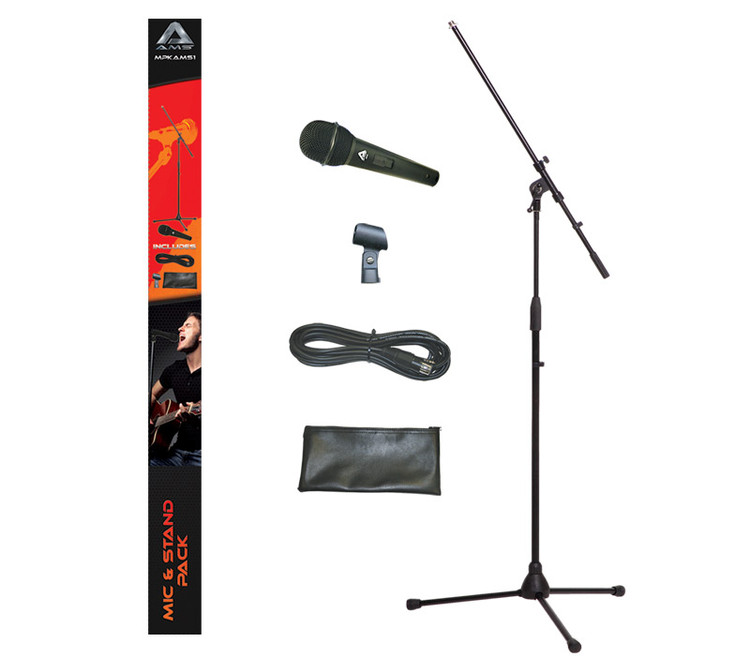 MPKAMS1 AMS Microphone Stand & Lead Pack