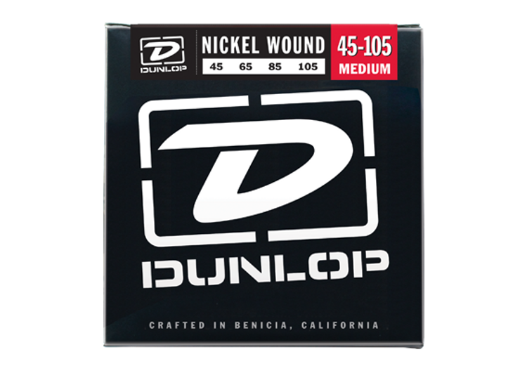 Dunlop   Bass Strings    45 105 (Medium, Nickel Wound)