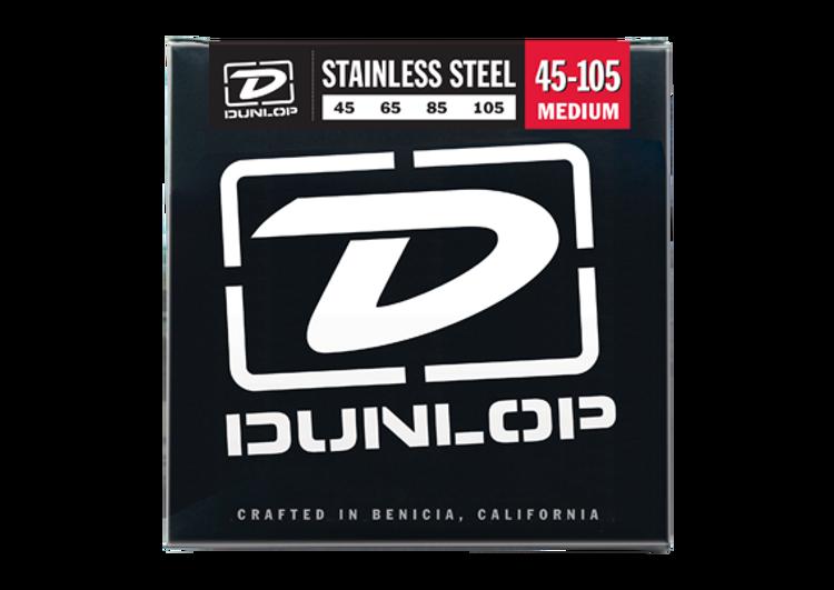 Dunlop   Bass Strings    45 105 (Medium, Stainless Steel)