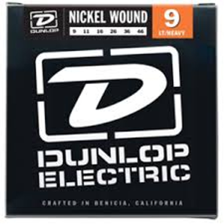 BOX OF 12 Dunlop Electric Guitar Strings 9/46 (light/heavy)