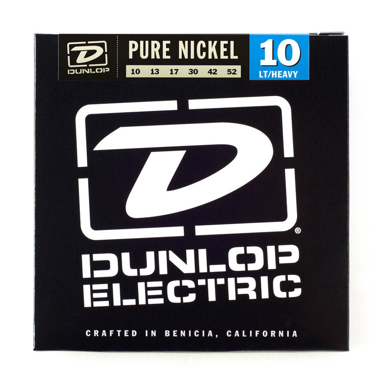 BOX OF 12 Dunlop Electric Guitar Strings 10/52 (light/heavy)