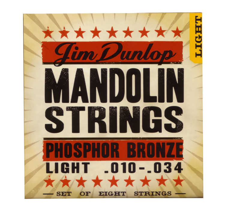 Dunlop    Mandolin Strings    .010   .034  (Light)