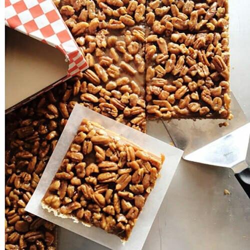 Salted Caramel Pecan Bars (1/2 dozen) Holiday