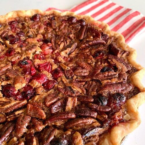 Cranberry Pecan Pie Xmas