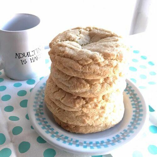 Snickerdoodle Cookies (1/2 doz) Holiday