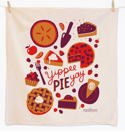 Yippee Pie Yay Dish Towel
