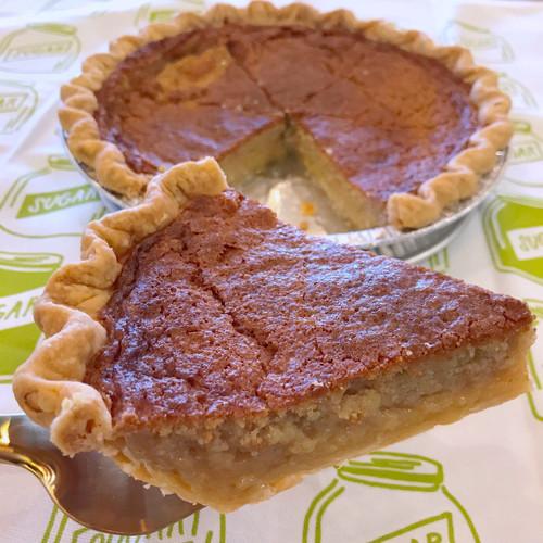 Brown Sugar Buttermilk Pie