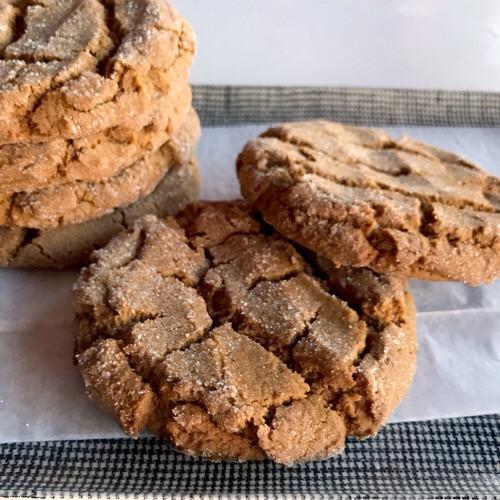Molasses Crinkle Cookies - 1/2 dozen