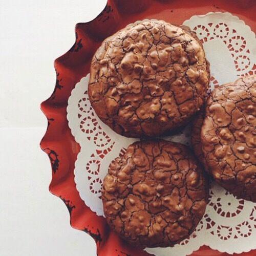 Decadent Chocolate cookies - 1/2 dozen