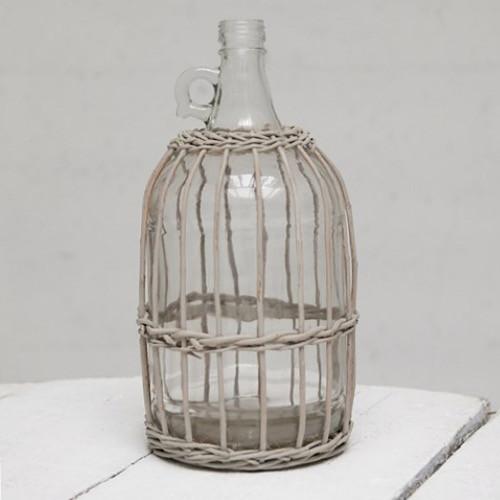 Bamboo Glass Bottle