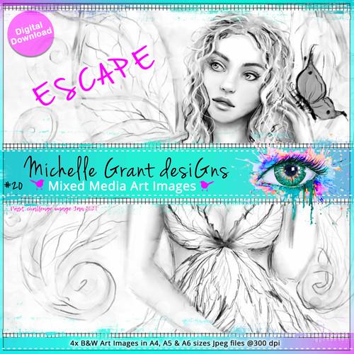 ESCAPE by Michelle Grant - Past Challenge Image