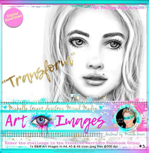 TRANSFORM by Michelle Grant - Past Challenge Image