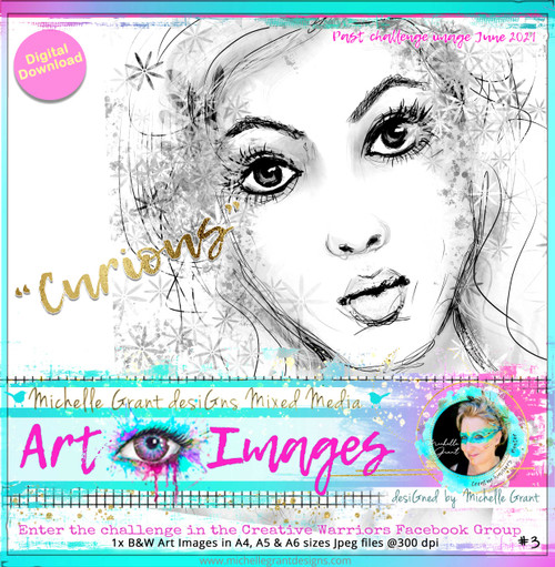 CURIOUS - By Michelle Grant - Past Challenge
