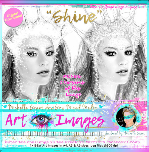 SHINE - Art Image by Michelle Grant - Past Challenge