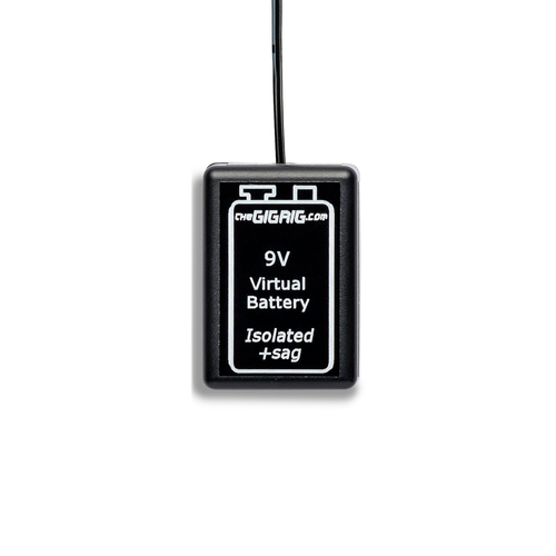 Virtual Battery. Available with Battery Connection or DC Plug