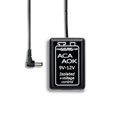 ACA-AOK: 9v to 12v Isolated Adapter with voltage control
