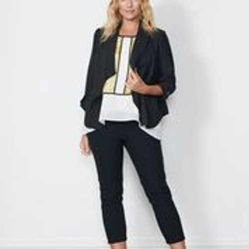 Jacket With Back Feature - Black