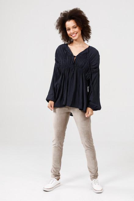 Arabella Shirt - Midnight Blue