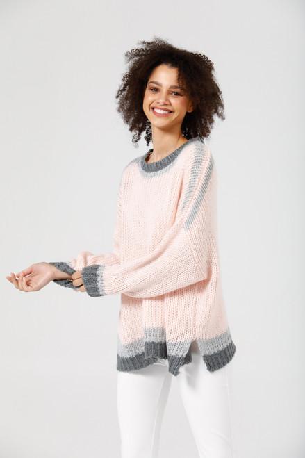 Midtown Knit - Pink