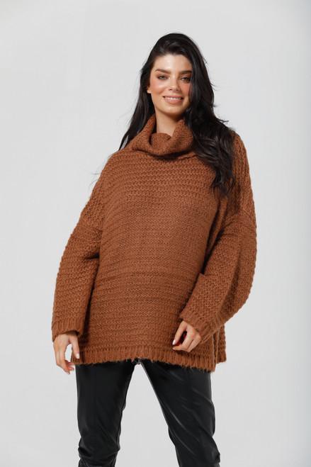 Saffron Knit - Tan