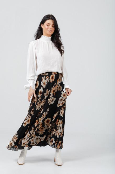 Alias Pleated Skirt - Desert Bloom