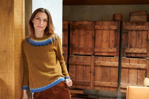 Jalila Sweater - Curry
