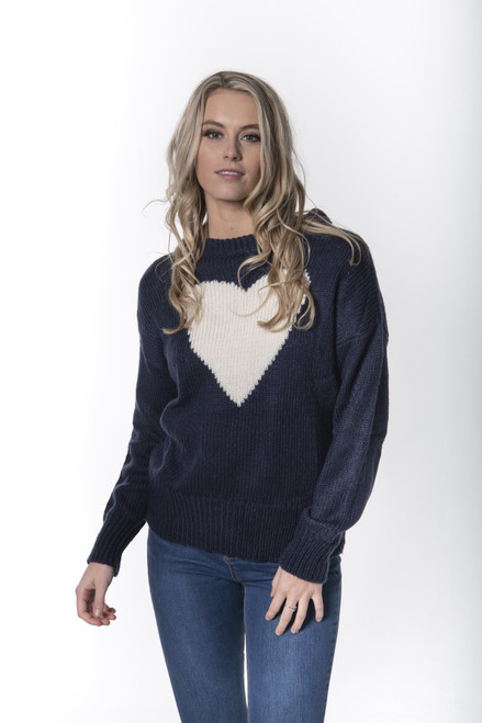 Heart Jumper One Size