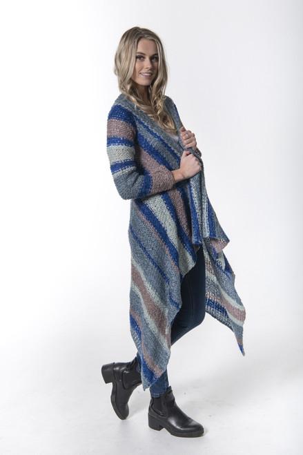Iclyn Cardi One Size - Blue