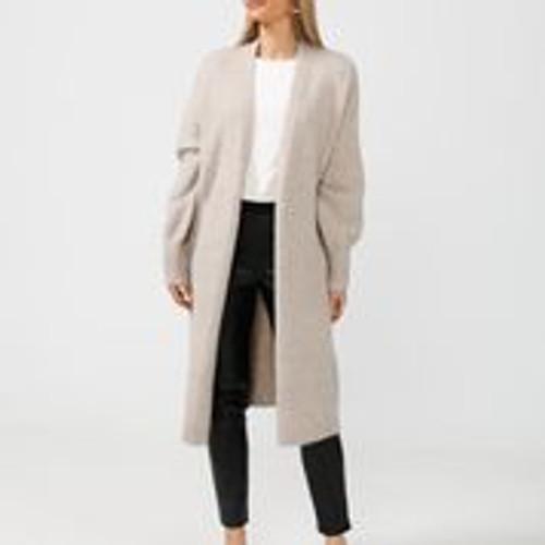 Maison Long Coat - Ecru