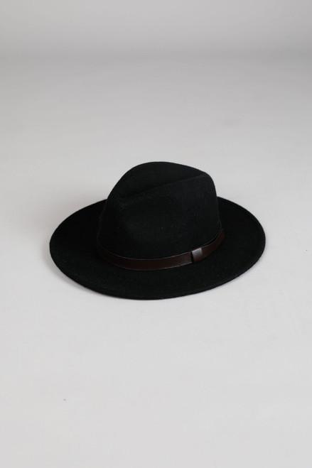 Byron Felt Hat - Black