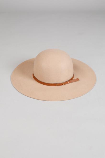 Byron Felt Hat - Tan