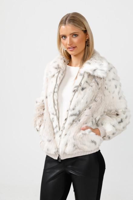Celeste Bomber - Snow Leopard
