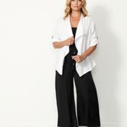 Linen Jacket - White