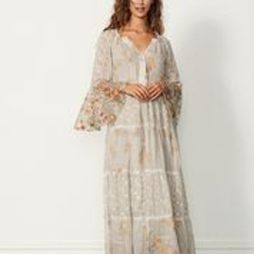 Gypsy Luxe Dress - Sand