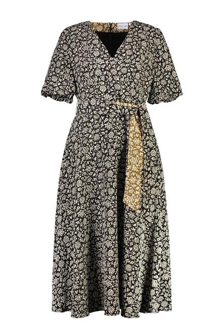 Latest Crush Dress - Black Floral