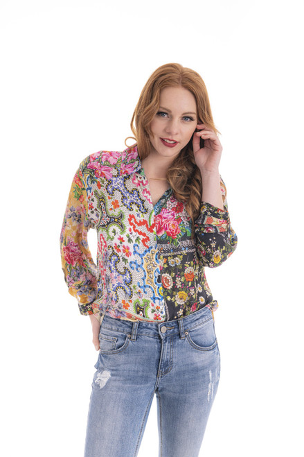 Floral Shirt - Garden Patch
