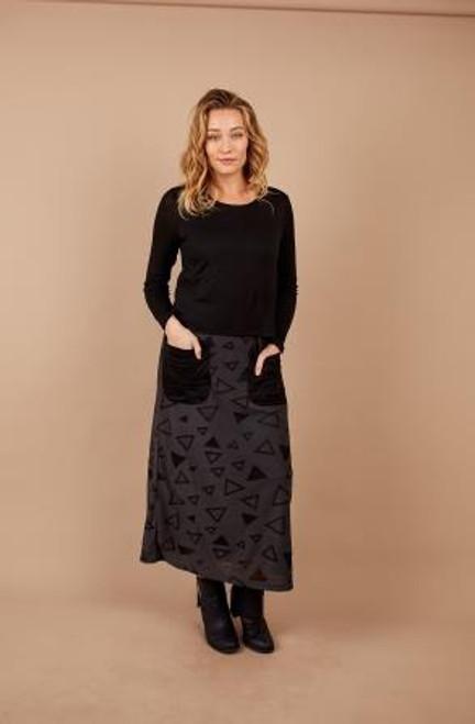 Textured Overlay Dress