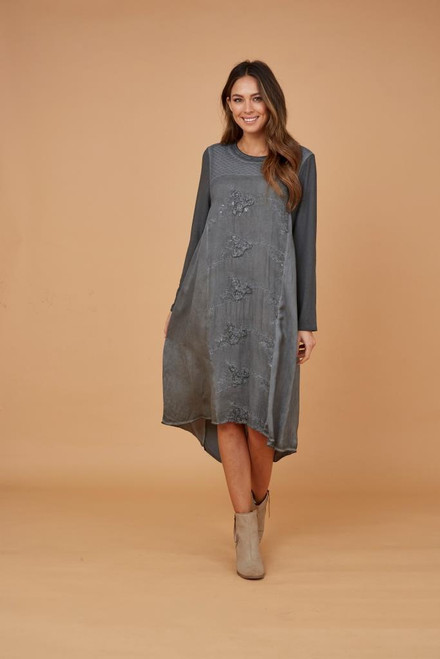 Centre Embroidery Dress
