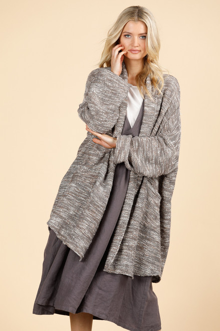 LARA Coat - Cream Boucle