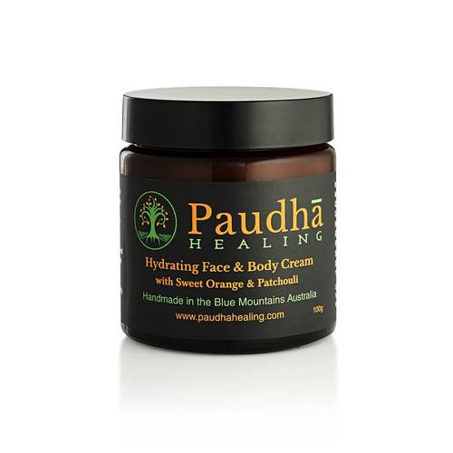 Face & Body Cream - Sweet Orange & Patchouli - 100g