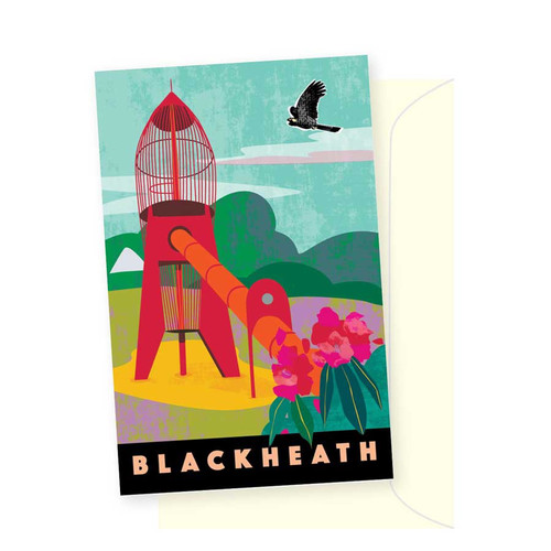 Greeting Card - Blackheath Rocket