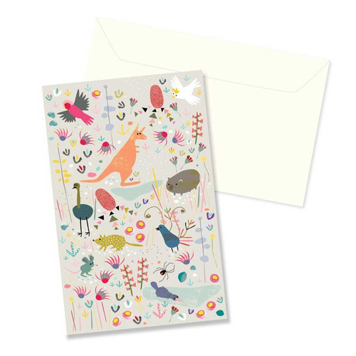 Greeting Card - Australian Animals