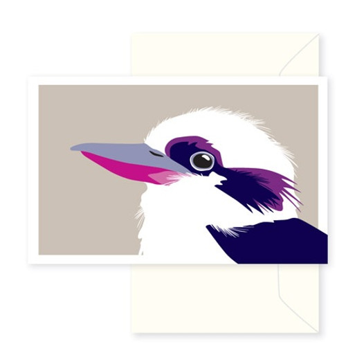 Greeting Card - Kookaburra