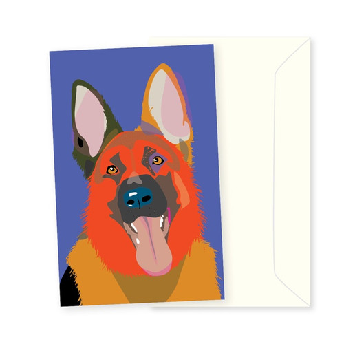 Greeting Card - German Shephard
