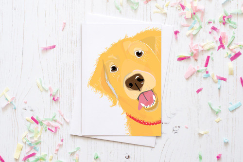 Greeting Card - Golden Retriever