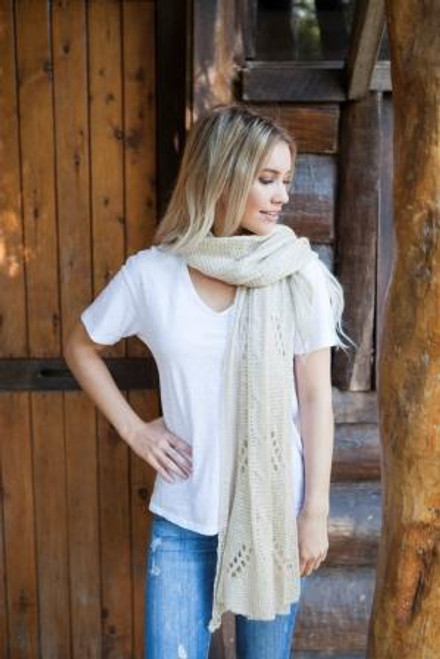Mohair Neck Scarf - Oat