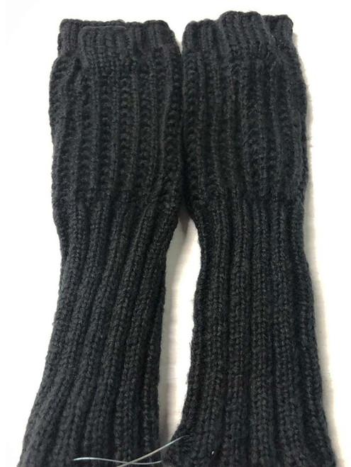 Mohair Gloves - Black