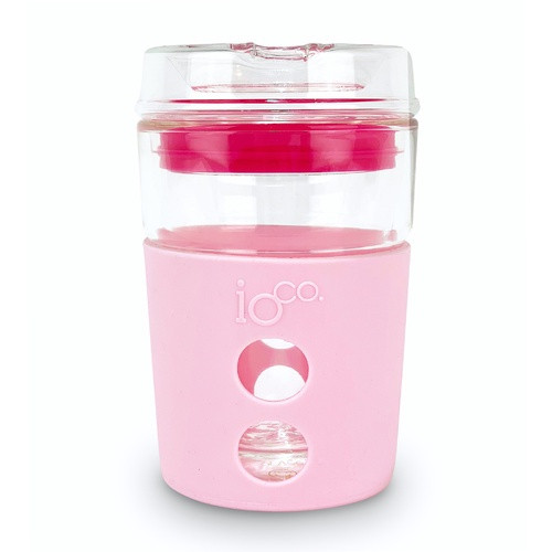 Glass Traveller 8oz - Pink
