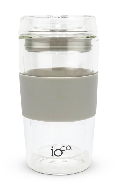 Glass Traveller 12oz - Warm Latte
